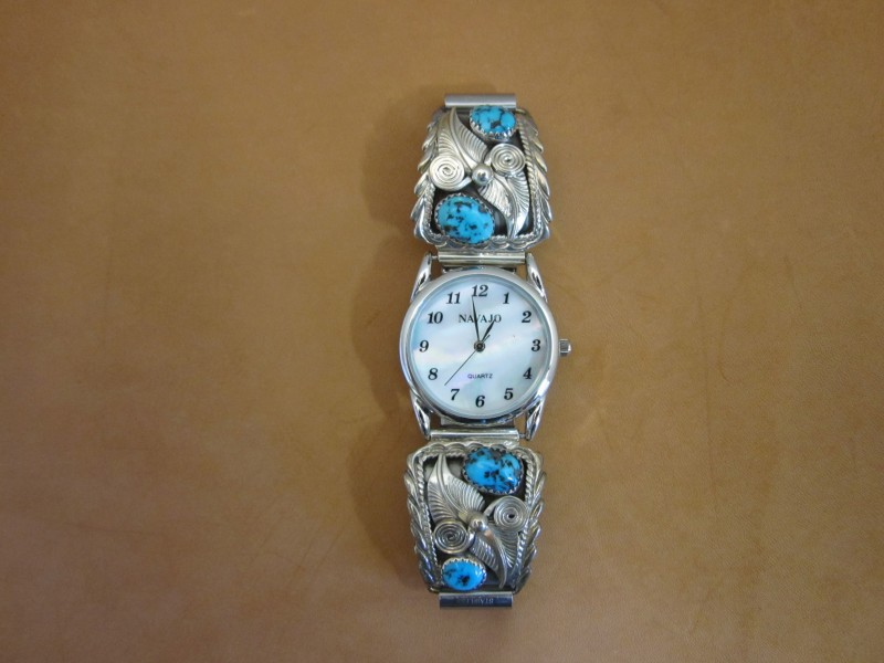 Womens Watches Watches | Fritch Brothers Western Silver - Solid Sterling