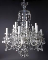Antique Crystal Chandelier | Fritz Fryer