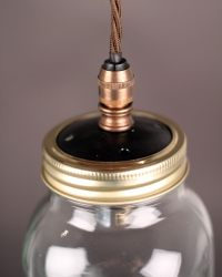Mason Jar Pendant Light | Fritz Fryer