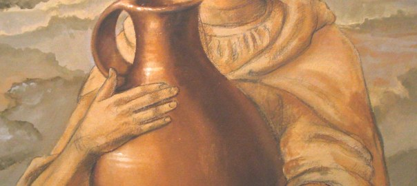 Samaritan woman detail