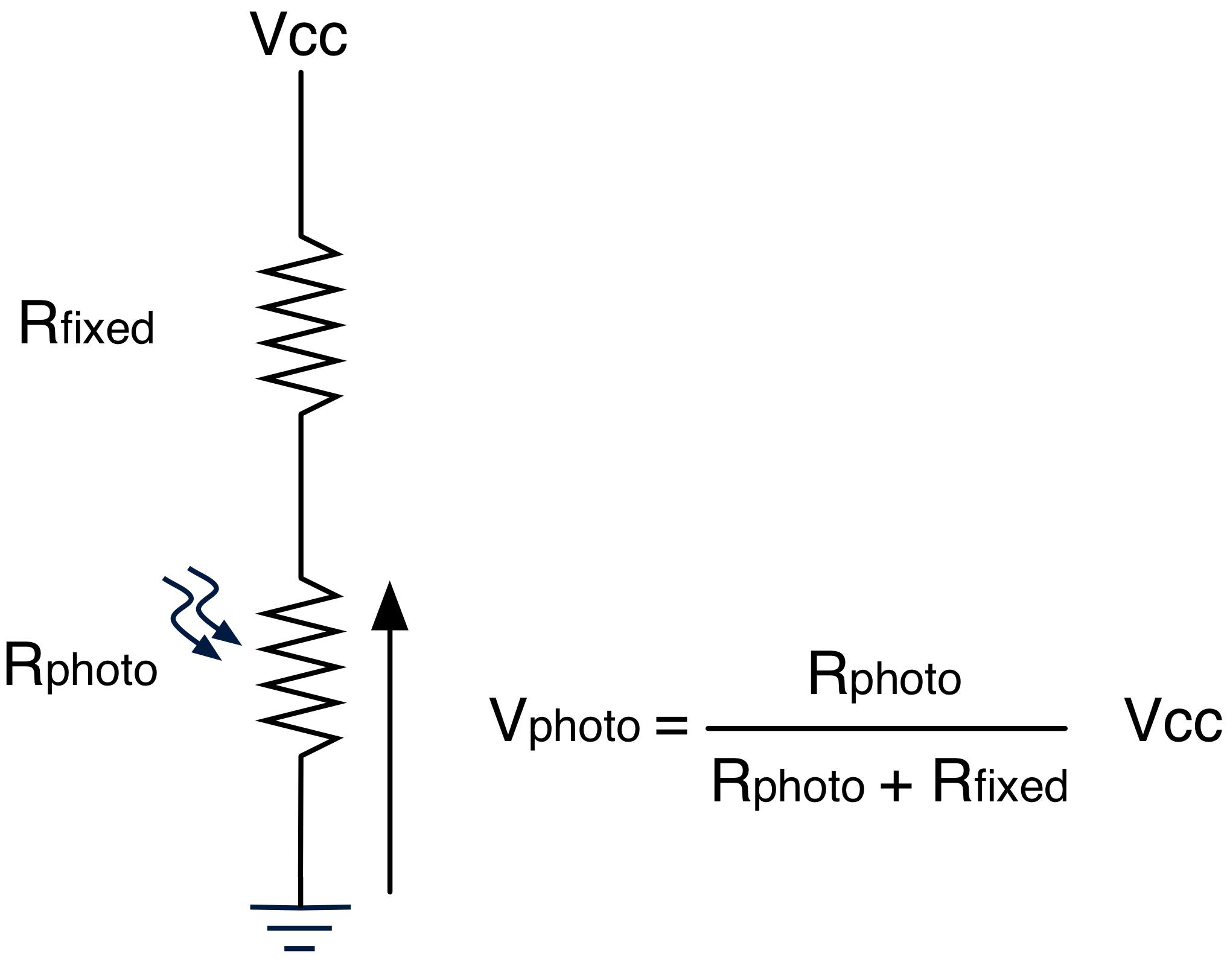 simple voltage divider circuit