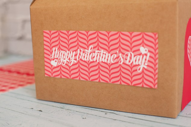 Free Printable Valentines Day Mail Boxes - Frog Prince Paperie