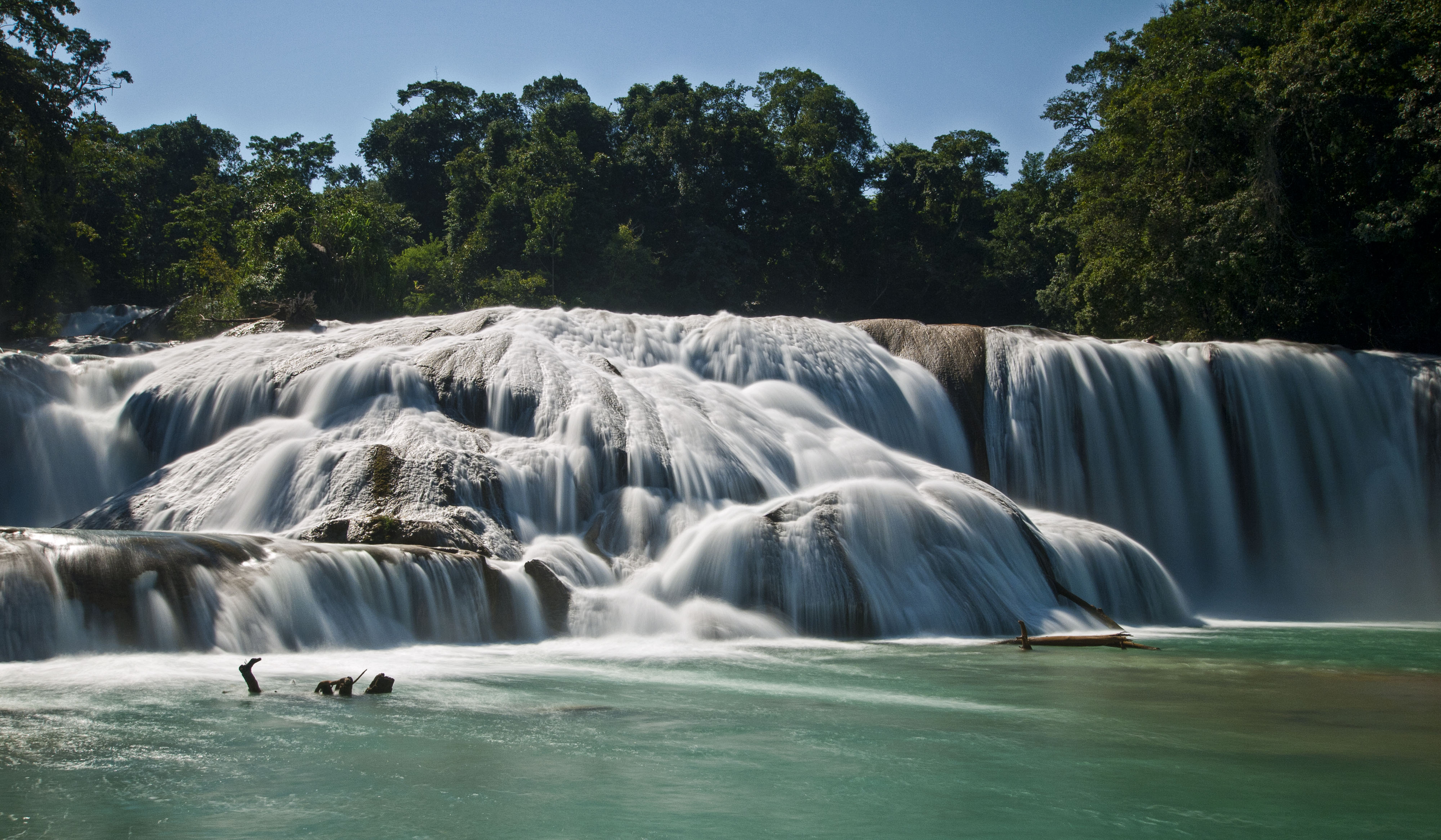 Niagara Falls Wallpaper Nature A Day On The Water Agua Azul And Misol Ha