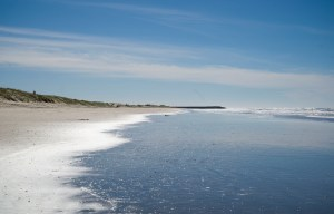 Beach at Barra del Chuy
