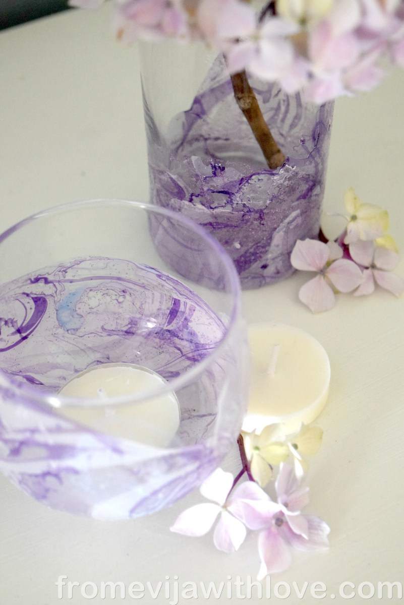 Blogger Collaboration - DIY Marble Effect