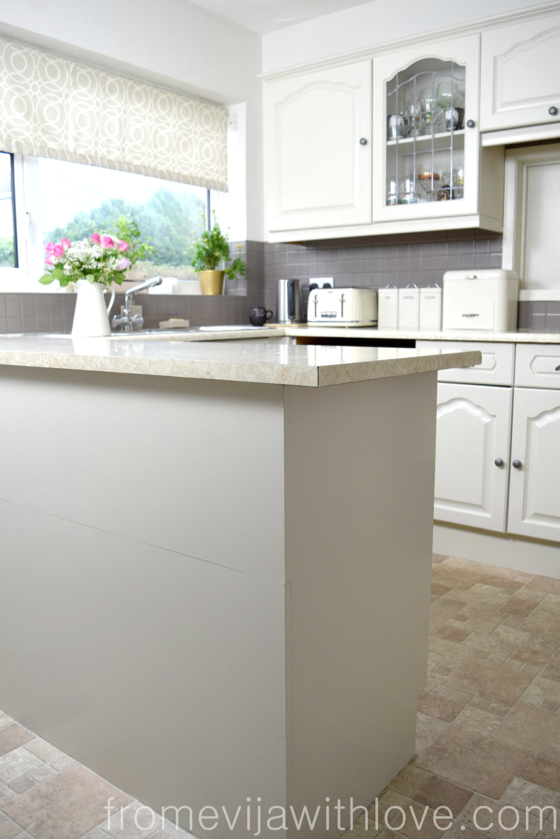 Kitchen Diy Quick And Easy Kitchen Makeover Diy Painted Cabinets