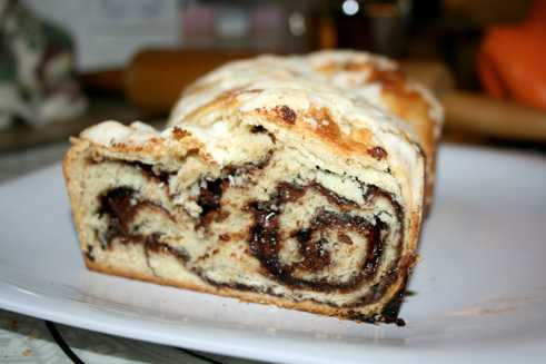 Chocolate Babka Bread 2
