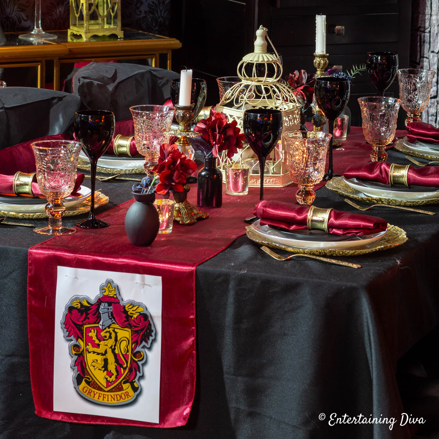 Location Décoration Harry Potter Harry Potter Table Decor Ideas Entertaining Diva From