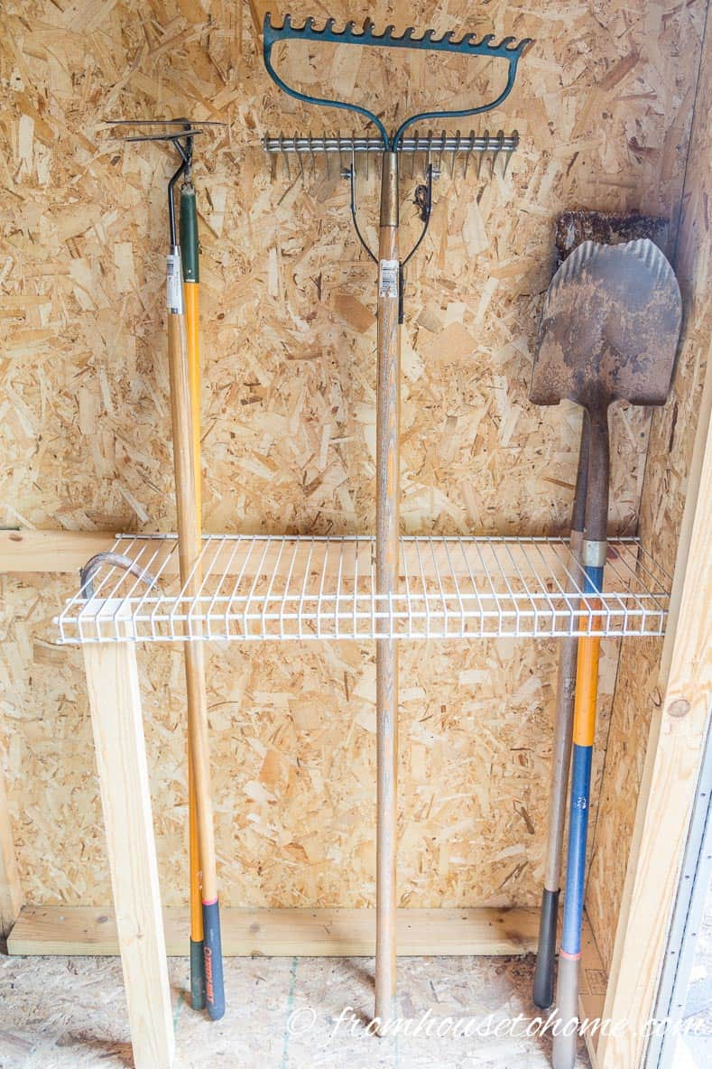 Garage Am Hang 8 Easy And Inexpensive Ways To Organize Garden Tools