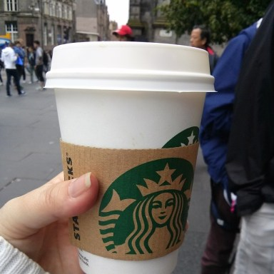 Scotland Starbucks