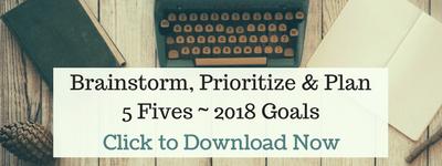 Goal-setting 2018