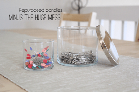 Repurposed Candles Tutorial from Marta with Love Tutorials