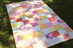 From Marta with Love: Pretty Little Patchwork Quilt