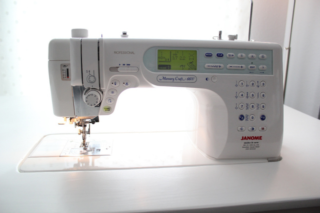 Janome MC 660P Want to buy my machine?