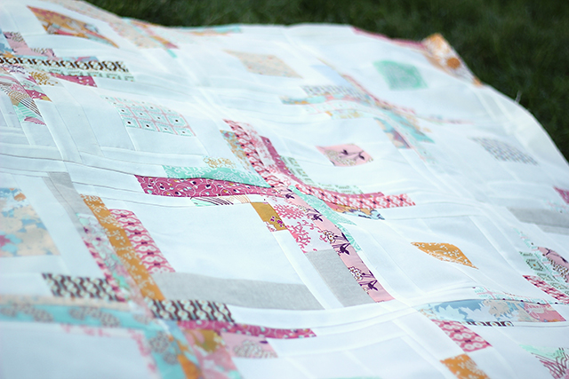 Summer love quilt top | from Marta with Love