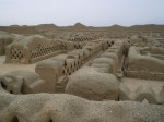 Las ruinas de Chan Chan