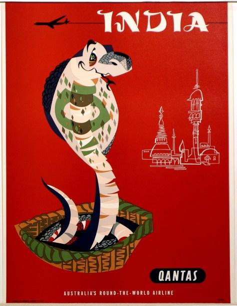 1950s-Qantas-India-Travel-Poster