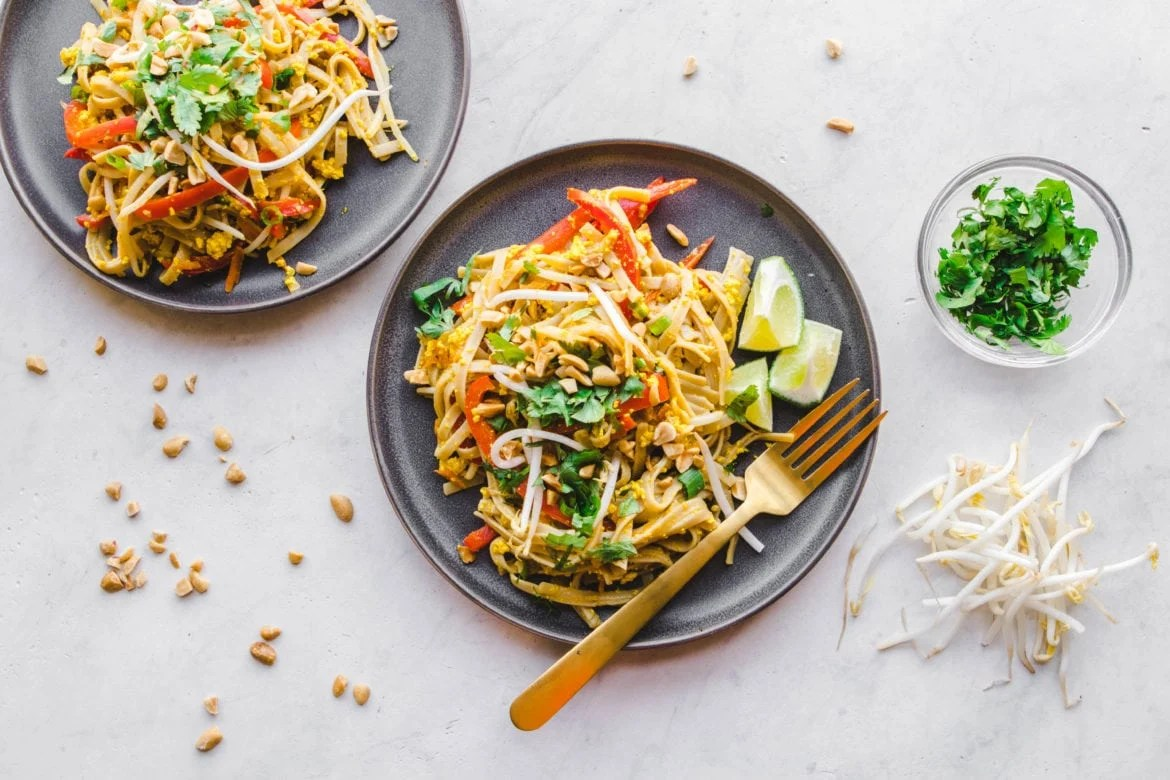 Easy Vegan Pad Thai In 30 Minutes From My Bowl