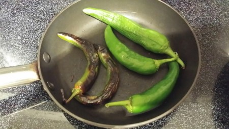 Roast Peppers On Stove