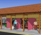 Nuevas paradas de buses en Managua