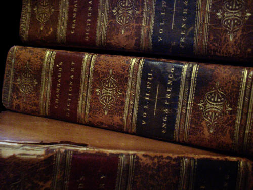 Beautiful Leaf Hd Wallpaper Old Books 3 Chambaud Close Up