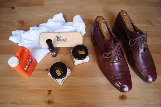 Restoring Old Leather Shoes