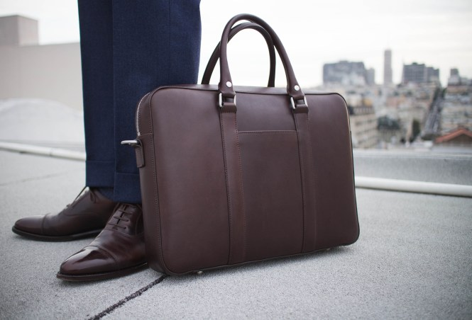 linjer soft briefcase review