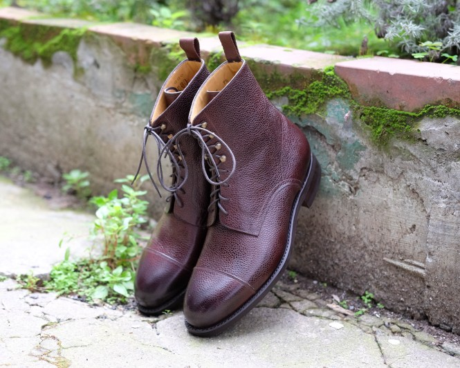 carlos santos jumper boot brown grain