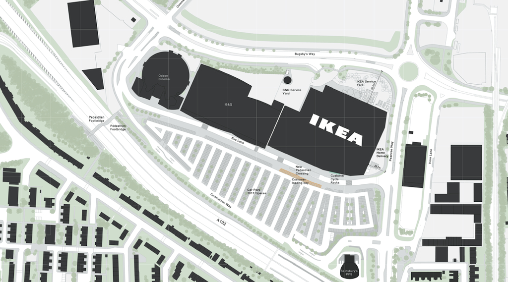 Transport Ikea Ikea Announce Details Of Forthcoming Greenwich Store