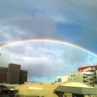 Each Time I See a Rainbow, God Reminds Me Life Will Be Alright
