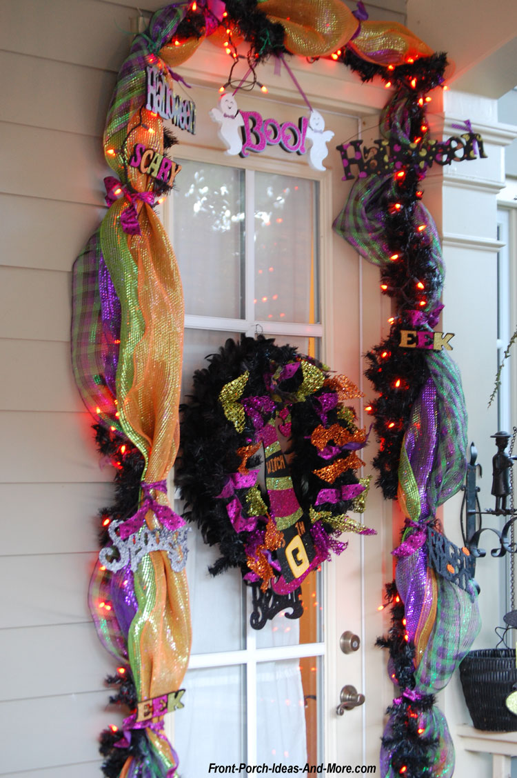 Halloween Porch Decorations With No Time To Spare