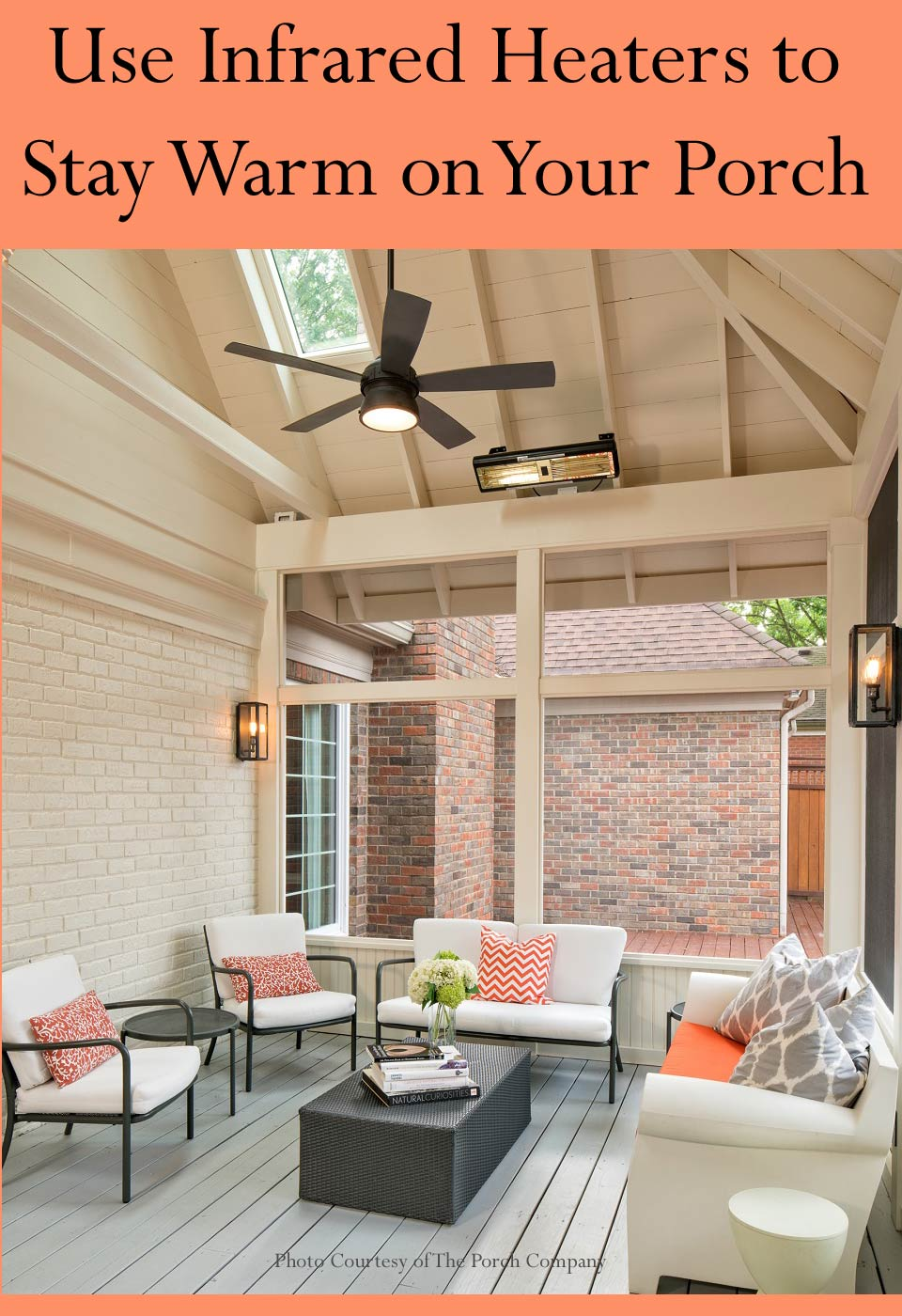 Infrared Heater Options For Your Porch Enclosure