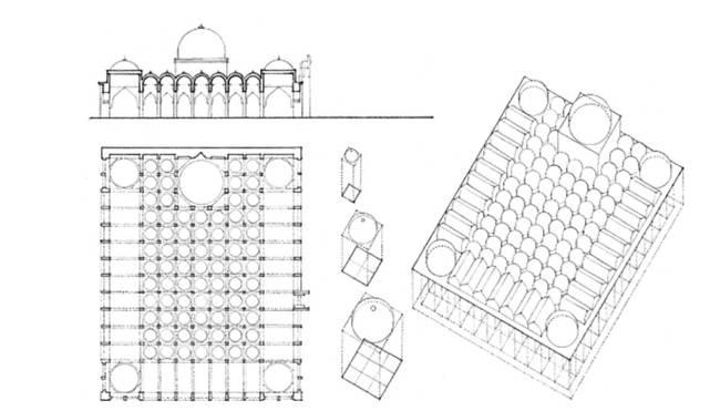 Friday Mosque Gulbarga India 1367 Classic Architecture - formal agenda format