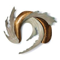 Sea and Sand Outdoor Wall Sculpture by Copper Art | Frontgate