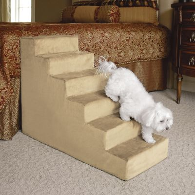 Animals Matter R Small Upholstered Pet Steps Frontgate