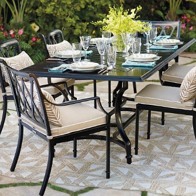 Grayson Dining In Black Finish Frontgate