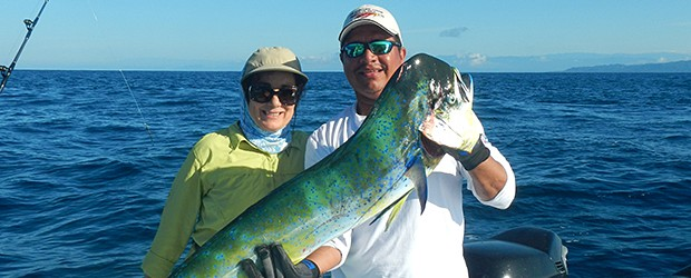 Fishing with Captain Lindor on Costa Rica's Pacific Coast