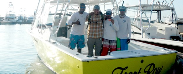 Fishing in Quepos Costa Rica with Flamingo Bay Charters
