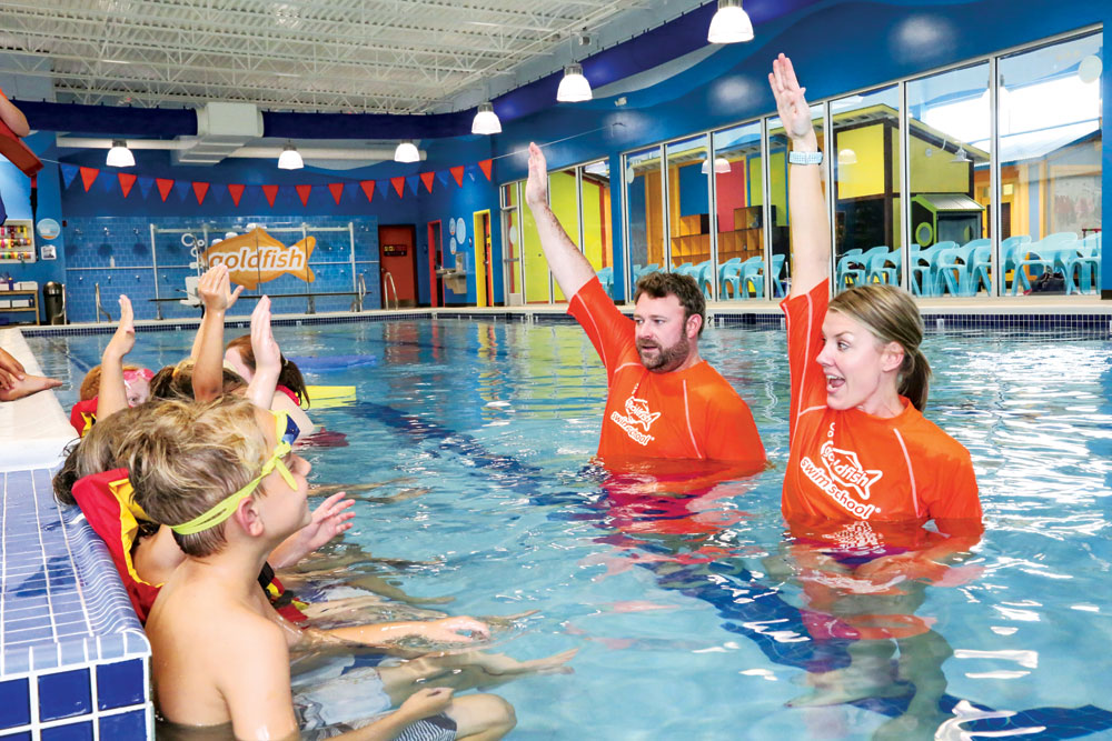 Positive Reinforcement Teaches Kids Swim and Water Safety Skills
