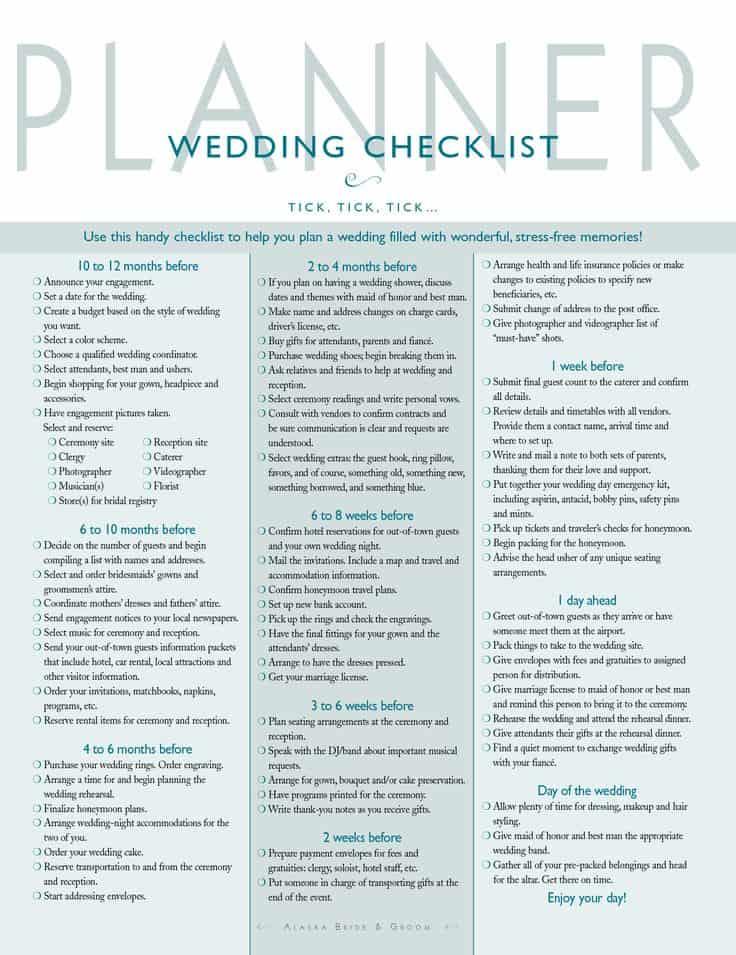 Timelines for Event Planning Blog Front Range Event Rental