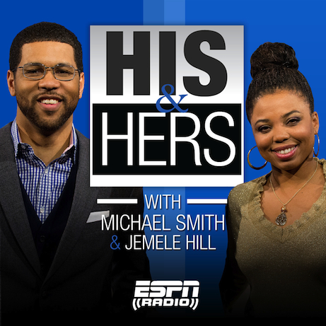 """His & Hers"" with Michael Smith and Jemele Hill debuts this coming Monday. (Joe Faraoni / ESPN Images)"