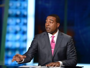 Pro Football Hall of Fame Class of 2013 inductee, ESPN's Cris Carter