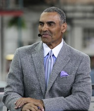 ESPN's Herm Edwards (Don Juan Moore/ESPN Images)