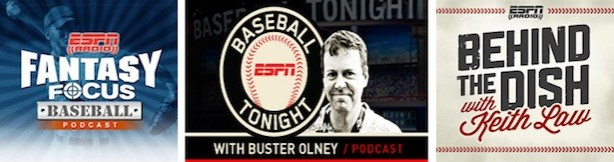 ESPN Audio's MLB podcast lineup