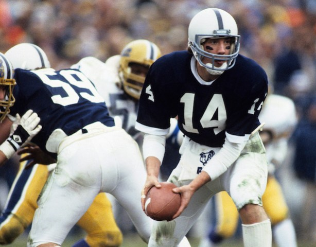 Todd Blackledge led Penn State to the national championship in 1982 and won the Davey OBrien Award as the nations most outstanding QB. (Ronald C. Modra/Sports Imagery/Getty Images)
