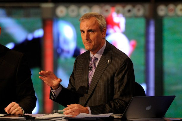 Trey Wingo at the 2012 NFL Draft. (Allen Kee / ESPN Images)