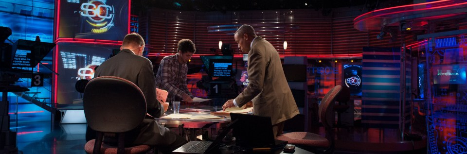 John Anderson and Jay Harris - SportsCenter - May 17, 2012