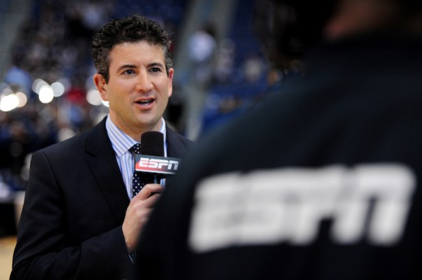 ESPN&#039;s Andy Katz (Joe Faraoni/ESPN Images)