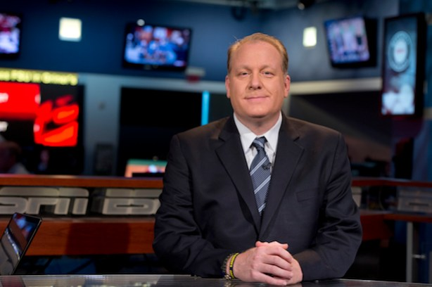 ESPN&#039;s Curt Schilling (Joe Faraoni / ESPN Images)