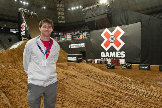 Tim Reed at X Games Barcelona 2013 (Tom Zuccareno/ESPN Images)